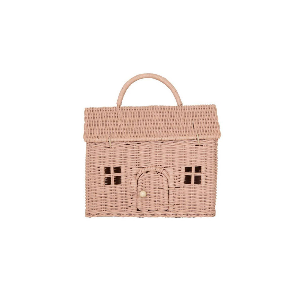Casa Clutch Bag - Rose by Olli Ella, available at Bobby Rabbit.