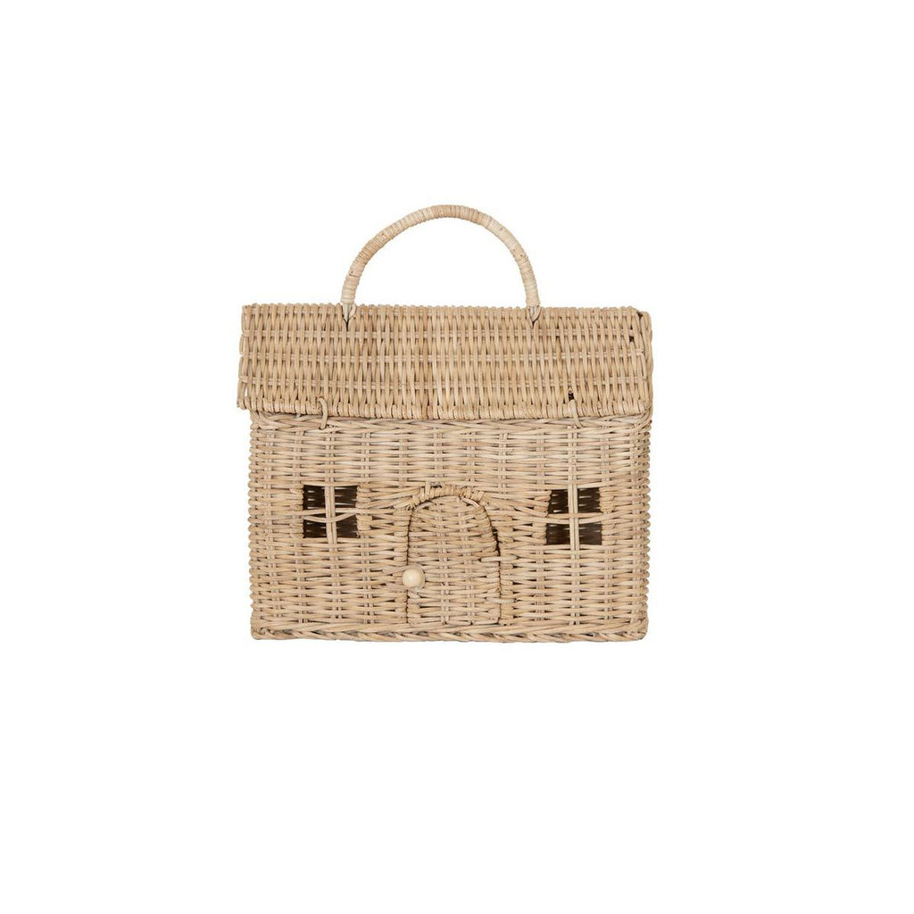 Casa Clutch Bag - Straw by Olli Ella, available at Bobby Rabbit.