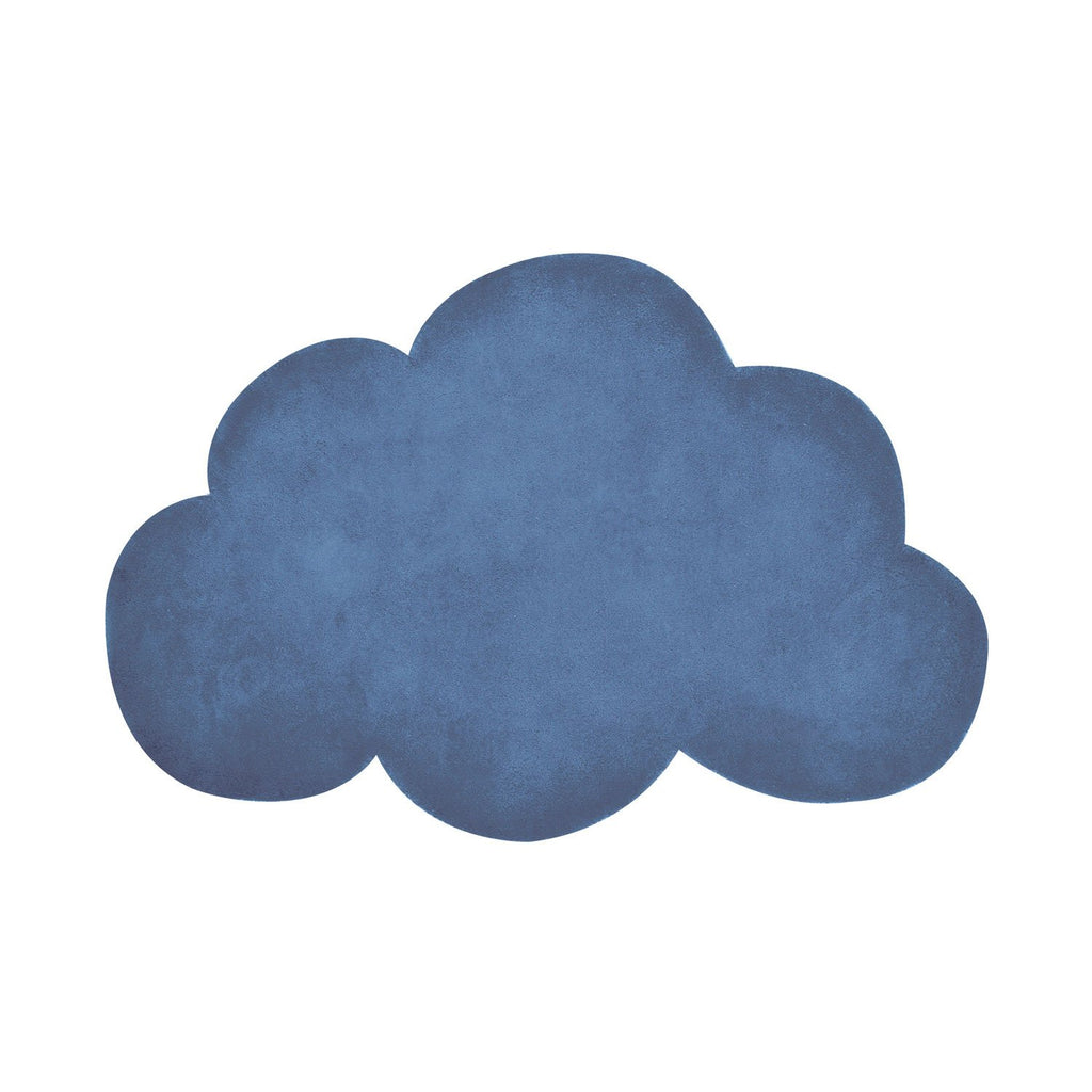 Blue Cloud Rug by Lilipinso, available at Bobby Rabbit.