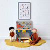 Wooden Tool Bench, Toys and Accessories, styled by Bobby Rabbit.