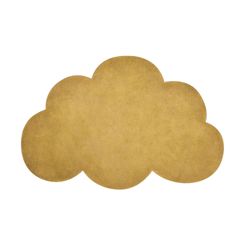 Mustard Cloud Rug by Lilipinso, available at Bobby Rabbit.