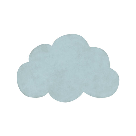 Aqua Green Cloud Rug by Lilipinso, available at Bobby Rabbit.