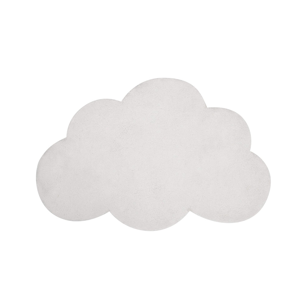 Whisper White Cloud Rug by Lilipinso, available at Bobby Rabbit.