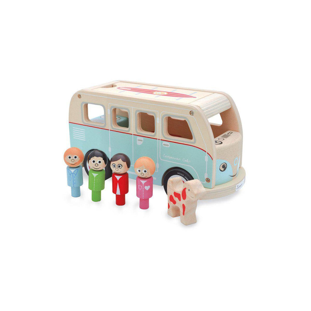 Colin Camper Van Wooden Toy by Jamm Toys, available at Bobby Rabbit.