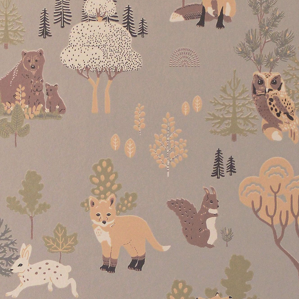Deep Forest Wallpaper by Majvillan, available at Bobby Rabbit. Free UK Delivery over £75