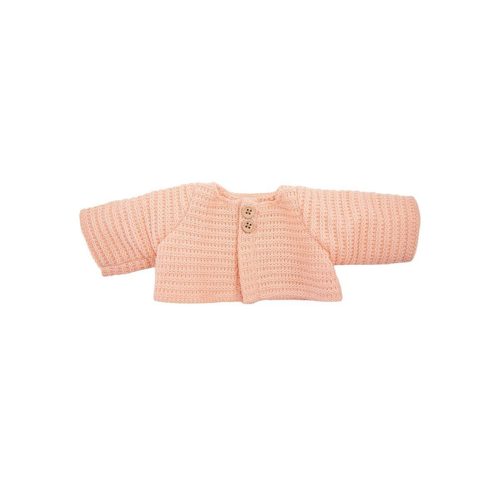 Dinkum Doll Cardigan - Rose by Olli Ella, available at Bobby Rabbit.