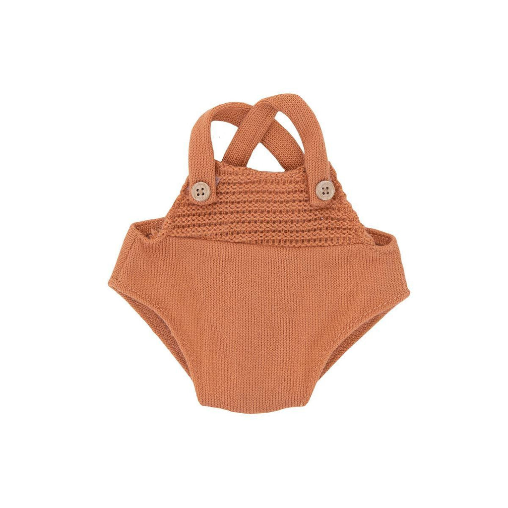 Dinkum Doll Romper Rust by Olli Ella, available at Bobby Rabbit.