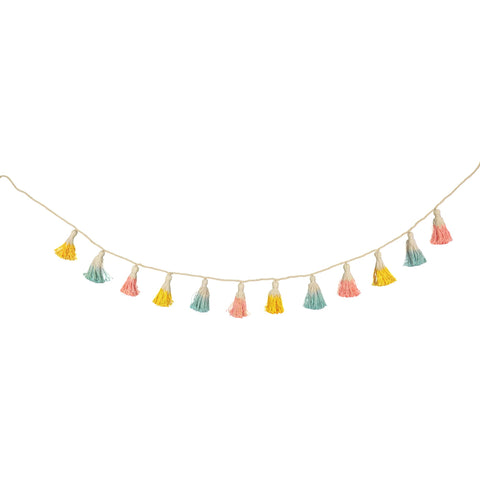 Dipped Tassel Garland by Meri Meri, available at Bobby Rabbit.