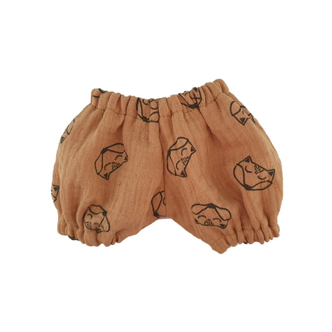 Dolls Shorts to fit 34cm Dolls by Maman Poule, available at Bobby Rabbit.