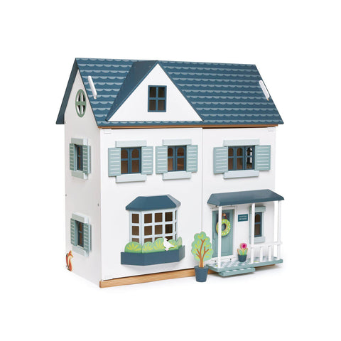 Dovetail House Dolls House by Tenderleaf Toys, available at Bobby Rabbit.
