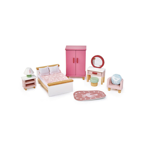 Dovetail House Dolls House Bedroom by Tenderleaf Toys, available at Bobby Rabbit.
