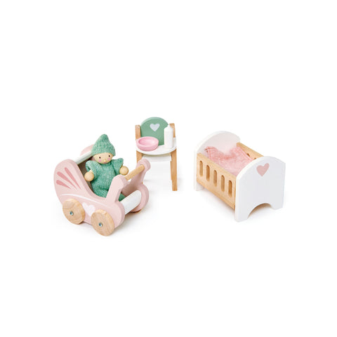 Dovetail House Dolls House Nursery by Tenderleaf Toys, available at Bobby Rabbit.