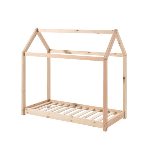 Floor House Bed - Cot Bed and Single Size, available at Bobby Rabbit.