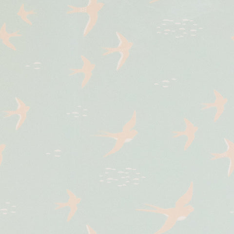 Follow The Wind Wallpaper by Majvillan, available at Bobby Rabbit.