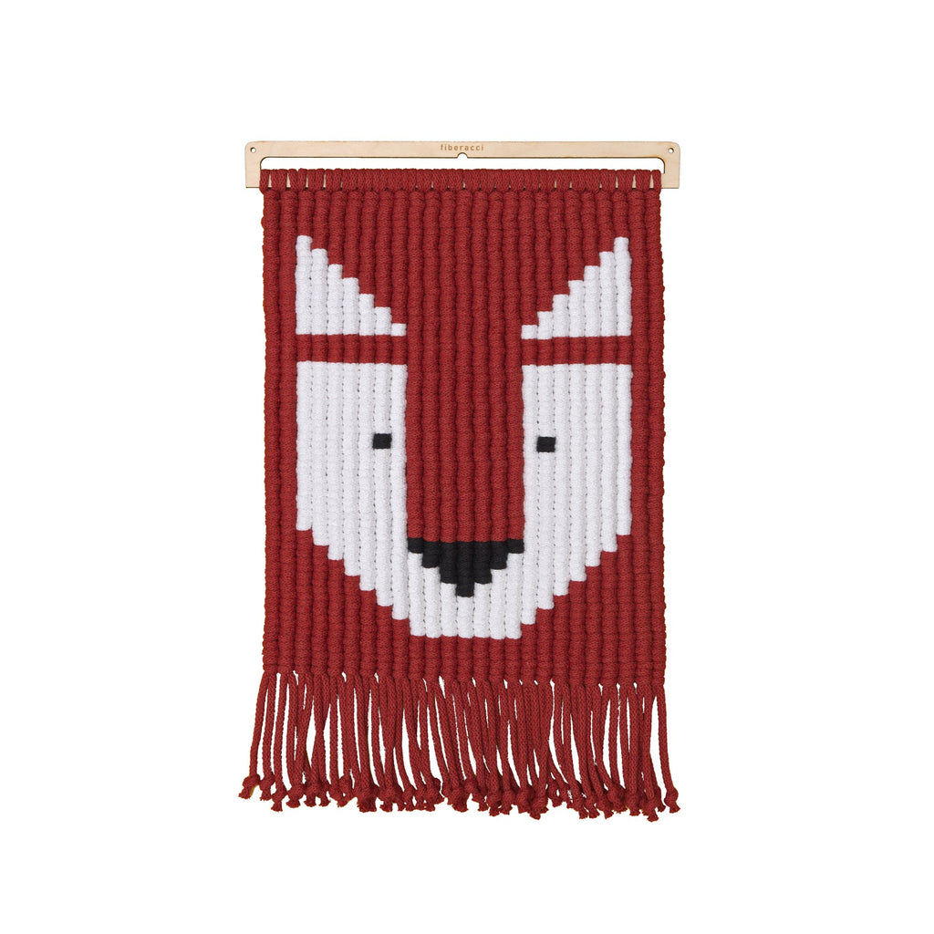 Frankie Fox Wall Hanging Children's Room Decoration by Fiberacci, available at Bobby Rabbit.