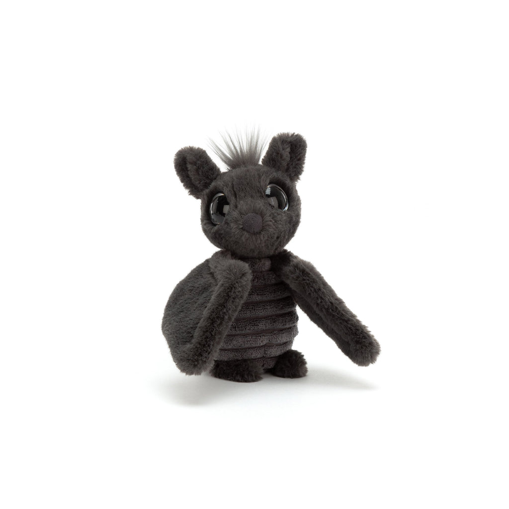 Frizzles Bat Soft Toy, designed and made by Jellycat and available at Bobby Rabbit.