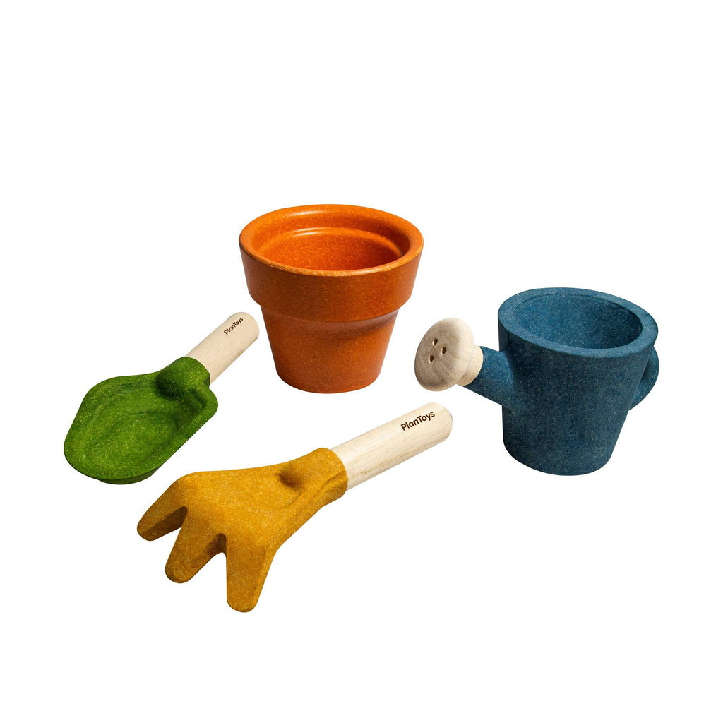 Garden Play Set by Plantoys, available at Bobby Rabbit.