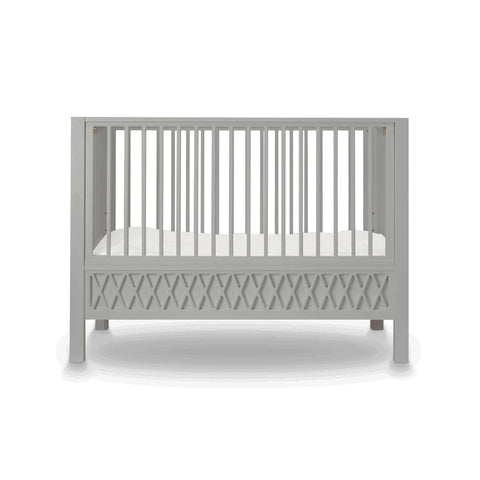 Harlequin Cot - Grey by Cam Cam Copenhagen, available at Bobby Rabbit.