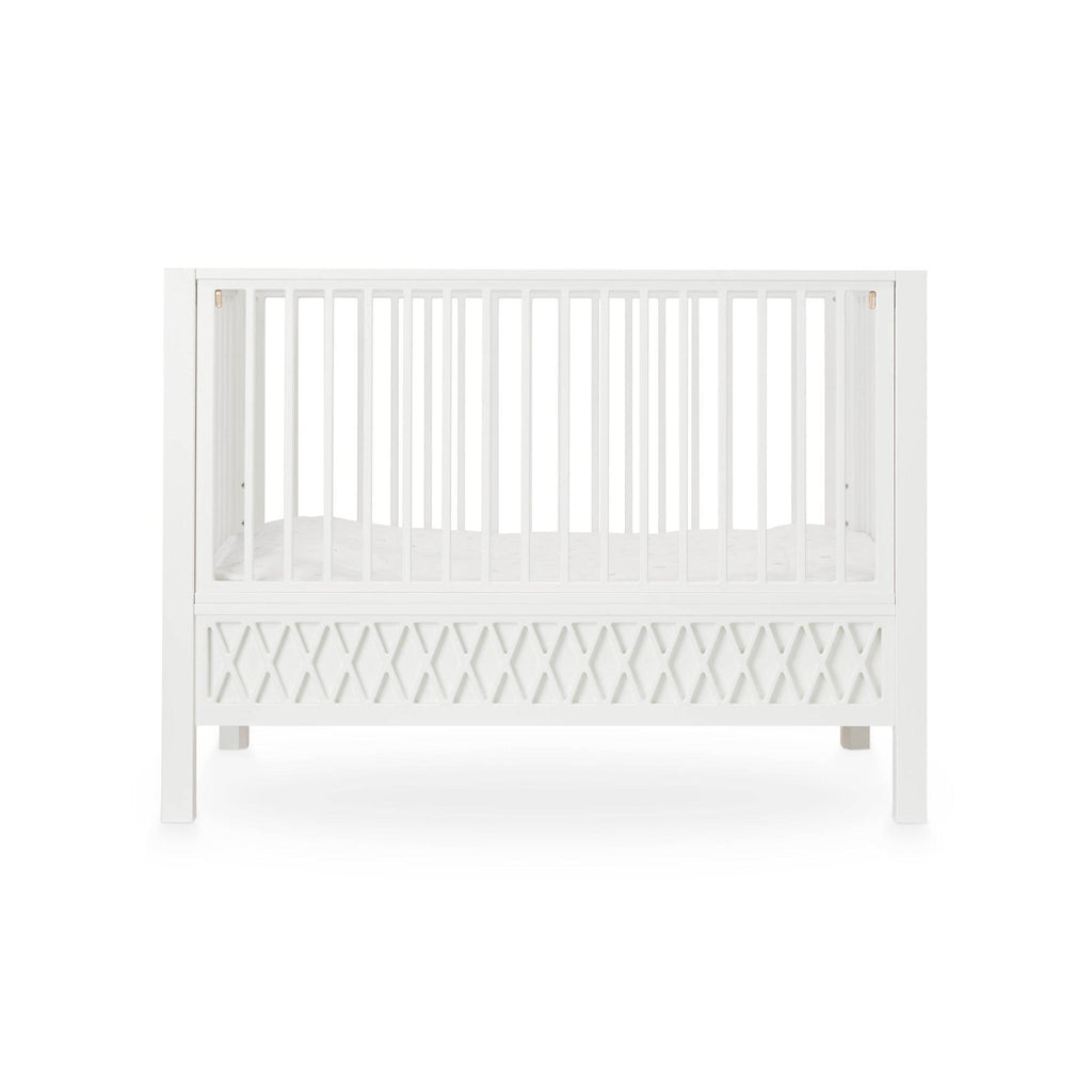 Harlequin Cot - Sand by Cam Cam Copenhagen, available at Bobby Rabbit.