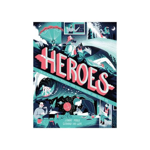 Heroes by Jonny Marx and Gerhard Van Wyk, available at Bobby Rabbit.
