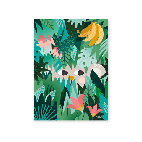 Hide And Seek Poster by Michelle Carlslund, available at Bobby Rabbit.