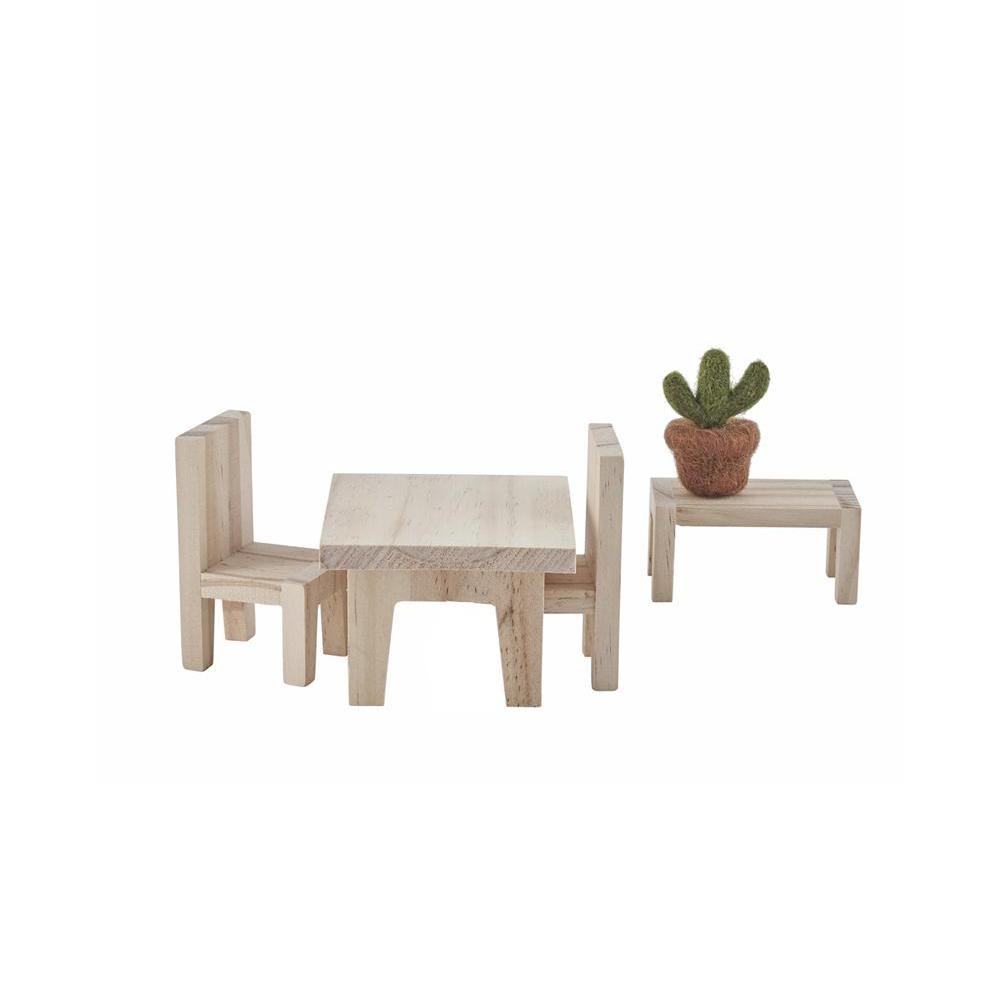Holdie House Dolls House Furniture - Dining Room by Olli Ella, available at Bobby Rabbit.