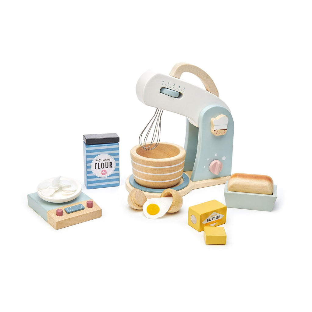 Home Baking Set by Tender Leaf Toys, available at Bobby Rabbit.