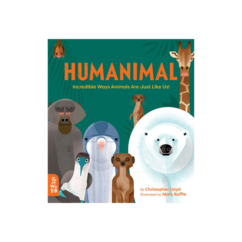 Humanimal by Christopher Lloyd, available at Bobby Rabbit.