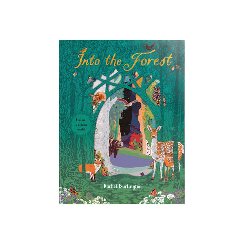 Into The Forest Book by Rachel Burlington, available at Bobby Rabbit.