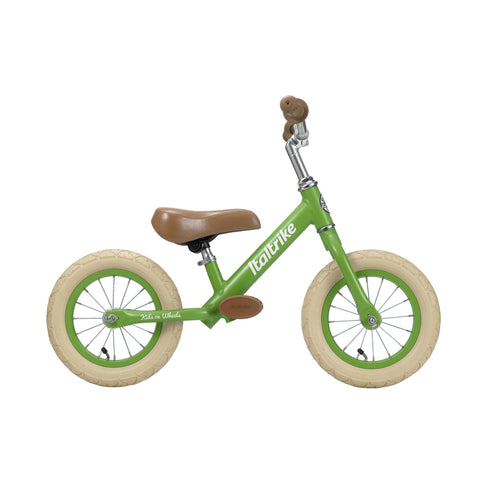 Apple Green 'Fruits' Balance Bike by Italtrike, available at Bobby Rabbit.