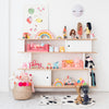 Mini Library, Toys and Accessories, styled by Bobby Rabbit.