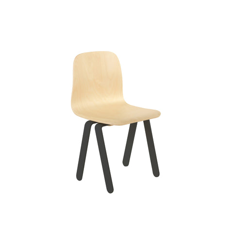Black Kids Chair by In2Wood, available at Bobby Rabbit.