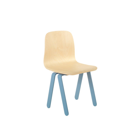 Blue Kids Chair by In2Wood, available at Bobby Rabbit.