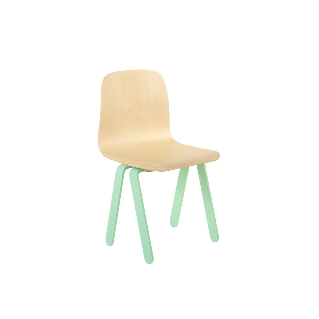 Mint Kids Chair by In2Wood, available at Bobby Rabbit.