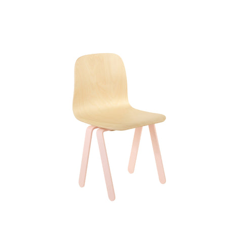 Pink Kids Chair by In2Wood, available at Bobby Rabbit.