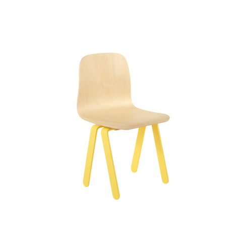 Yellow Kids Chair by In2Wood, available at Bobby Rabbit.