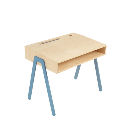 Blue Kids Desk by In2Wood, available at Bobby Rabbit.