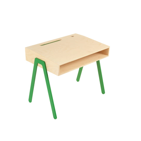Green Kids Desk by In2Wood, available at Bobby Rabbit.