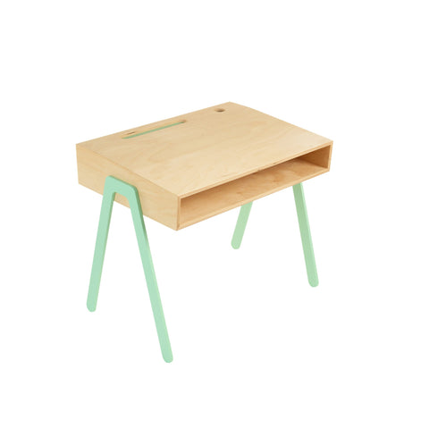 Mint Kids Desk by In2Wood, available at Bobby Rabbit.