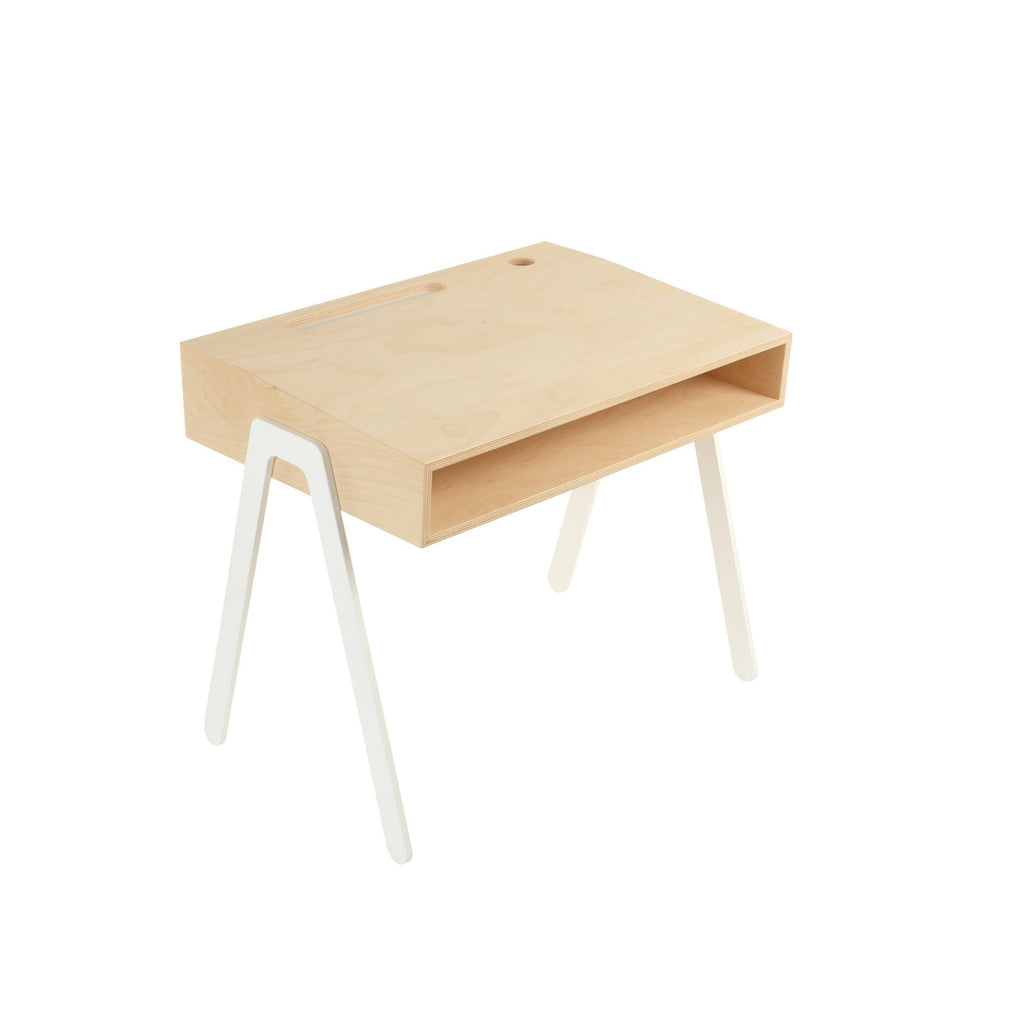 White Kids Desk by In2Wood, available at Bobby Rabbit.