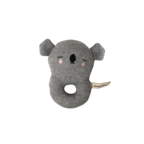 Koala Rattle Toy by Eef Lillemor, available at Bobby Rabbit.