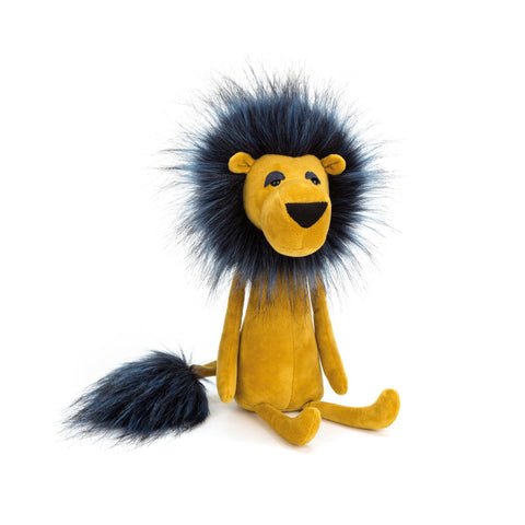 Swellegant Lancelot Lion Soft Toy, designed and made by Jellycat and available at Bobby Rabbit.
