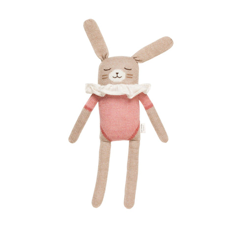 Large Knitted Bunny Rose by Main Sauvage, available at Bobby Rabbit.