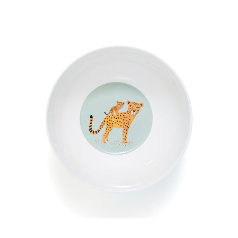 Leopard Bowl Denim, designed by Petit Monkey, available at Bobby Rabbit.