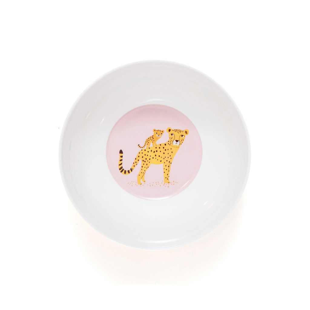 Leopard Bowl Ochre, designed by Petit Monkey, available at Bobby Rabbit.