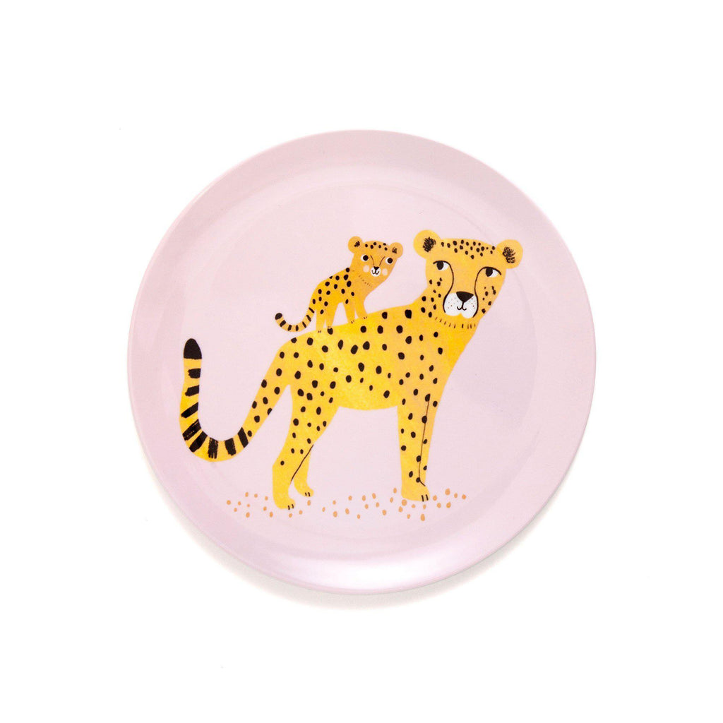 Leopard Plate Orchid, designed by Petit Monkey, available at Bobby Rabbit.