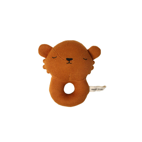 Lion Rattle Toy by Eef Lillemor, available at Bobby Rabbit.