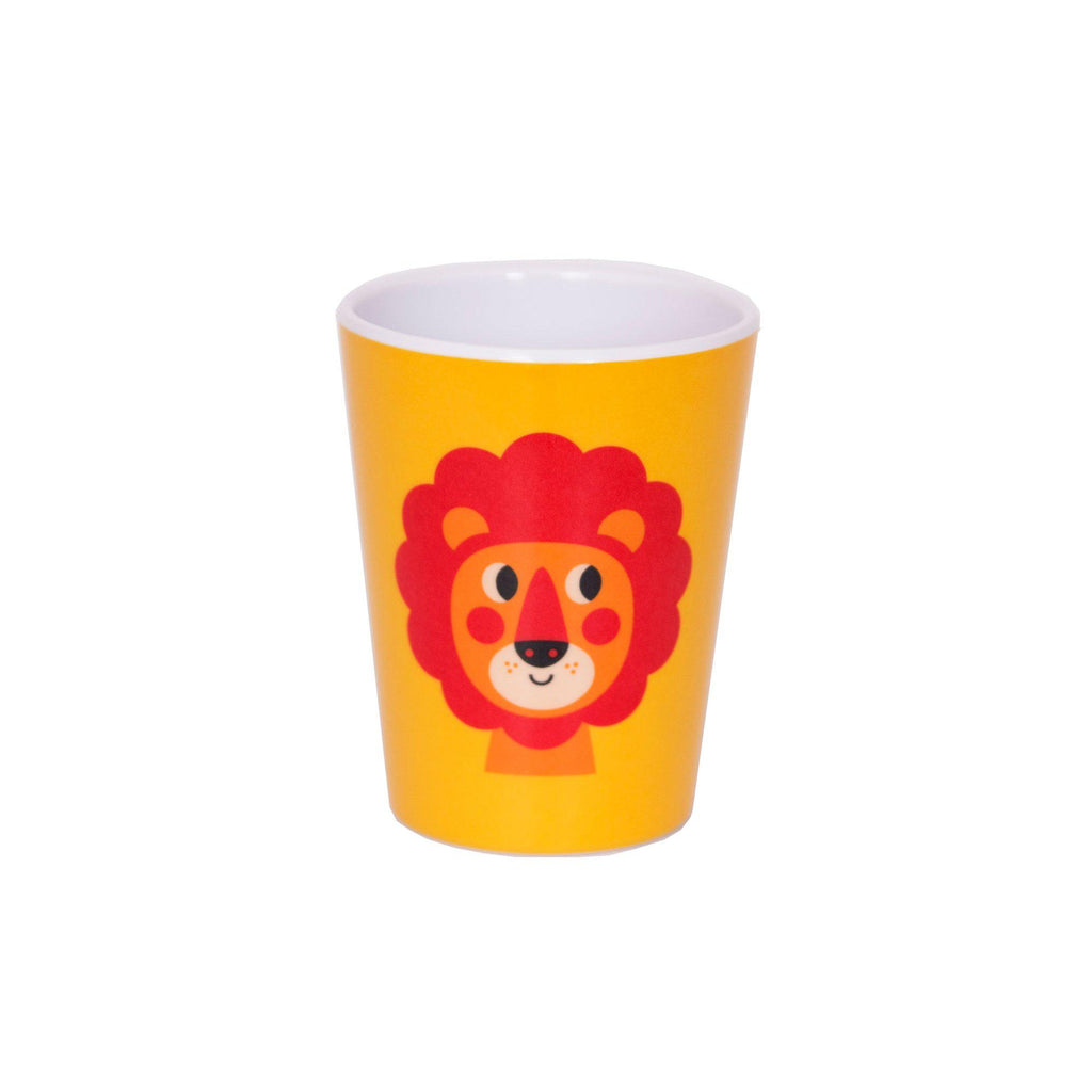 Melamine Lion Cup, designed by Ingela P. Arrhenius for OMM Design and available at Bobby Rabbit.