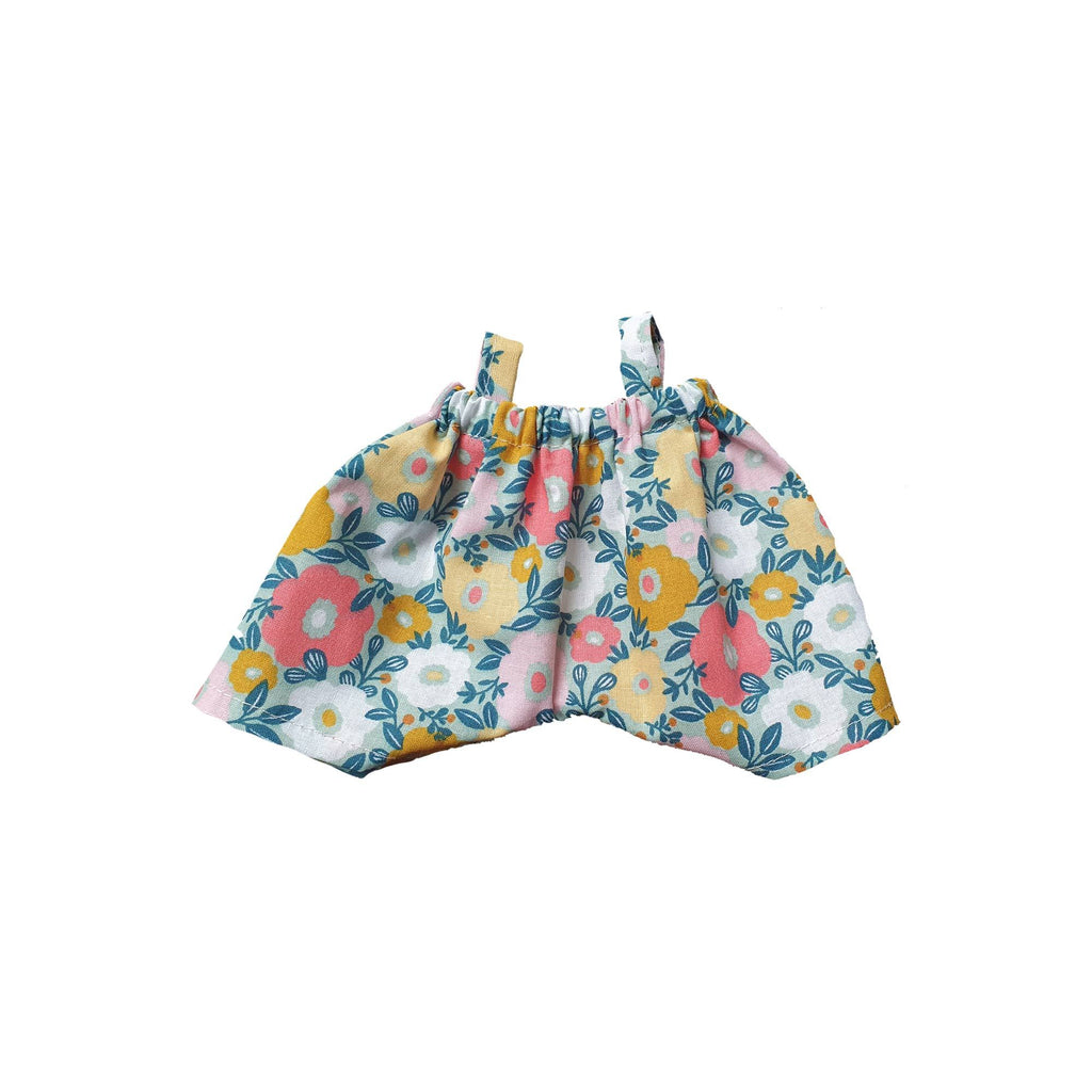 Little Baby Doll Romper to fit 21cm Doll by Maman Poule, available at Bobby Rabbit.