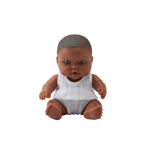 Little Baby Marley 21cm Doll by Paula Reina, available at Bobby Rabbit.
